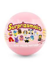 Suprazimals Serie 2 Bola con Peluche Sorpresa de 6 cm. Beysal SUR20250