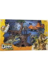 Dino Valley Attaque du Dinosaure dans la Jungle