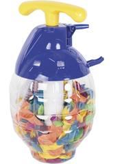 Botella con 250 Globos Agua 5 cm.