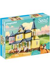 Playmobil Spirit Riding Free Casa di Lucky 9475
