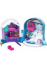 Polly Pocket Cofre Refugio de Nieve Mattel FRY37
