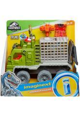 Jurassic World Imaginext Camión Atrapa Dinosaurios Mattel FMX87