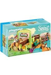 Playmobil Spirit Establo Lucky y Spirit