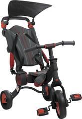 Triciclo Galileo Negro y Rojo Toimsa 50516