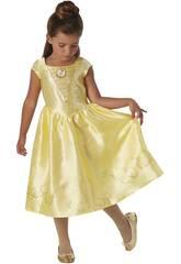 Kostüm für Mädchen Belle Live Action Größe M Rubies 630607-M
