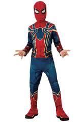 Disfraz Niño Infinity War Iron Spider Classic Talla S Rubies 641052-S