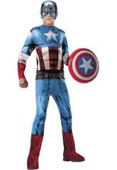 Dèguisement Enfant Capitaine Amerique Classic Taille L Rubies 620019-L
