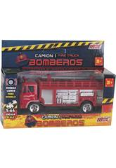 Camion de Pompiers en Métal de 12 cm