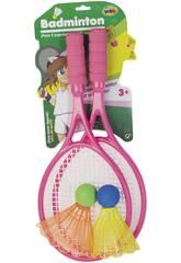 Set Deux Raquettes Badminton avec Deux Volants