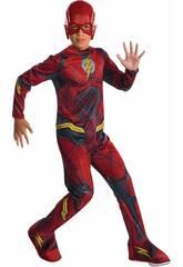Déguisement Enfant Flash Ligue De La Justice Taille S Rubies 630864-S