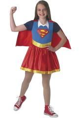 Déguisement Enfant Fille Supergirl Classic Taille L Rubies 630021-L
