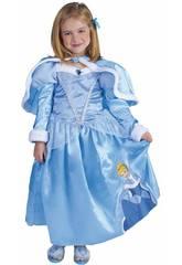 Déguisement Enfant Fille Cendrillon Winter Taille S Rubies 887090-S