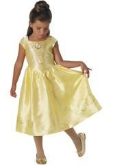 Kostüm für Mädchen Belle Live Action Größe S Rubies 630607-S