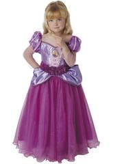 Disfarce Menina Rapunzel Premium Tamanho S Rubies 620484-S