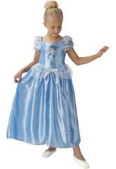 Disfarce Menina da Cinderela Fairytale Classic Tamanho S Rubies 620640-S