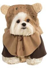 Costume per Animali Star Wars Ewok S Rubies 887854-S