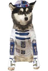 Disfarce de Mascote Star Wars R2-D2 Tamanho M Rubies 888249-M