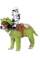 Disfraz Mascota Star Wars Dewback con Jinete Talla Única Rubies 886582