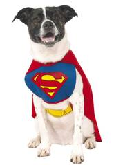 Costume per Animali Superman L Rubies 887892-L