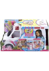 Barbie Ambulanza Trasformabile in Clinica Mobile Mattel FRM19