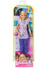 Barbie Quiero Ser Enfermera Mattel DVF57