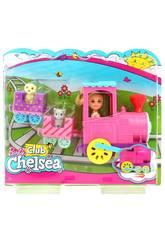 Barbie Chelsea et Son Tren De Mascottes Mattel FRL86