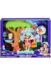 Enchantimals Altalena Sull'Albero con Bambola Felicity la Volpe Playset Mattel FRH45