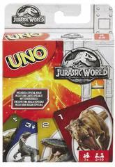 Uno Jurassic World Mattel FKL66
