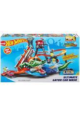 Hot Wheels Crocodilo Túnel De Lavado Mattel FTB67