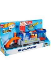 Hot Wheels Super Station de lavage Mattel FTB66