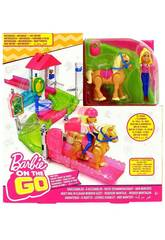 Barbie On The Go Carrera De Ponis Mattel FHV66