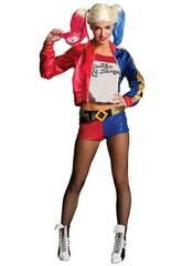 Disfraz Mujer Harley Quinn Talla S Rubies 820118-S