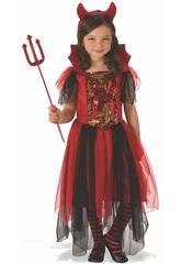 Déguisement Enfant Diablesse Magique Taille M Rubies 641102-M