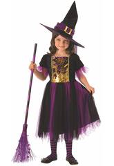 Deguisement Enfant Sorciere Magique Taille L Rubies 641101-L