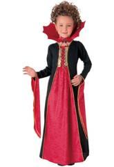 Déguisement Fille Vampire Gothique Rouge Taille L Rubies 881029-L