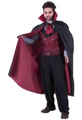 Kostüm Mann Mr Graf Dracula Einheitsgröße Rubies S8521