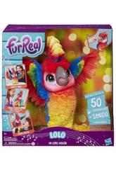 FRR Kuscheltier mein Lolo mein cooler Papagei Hasbro E0388105