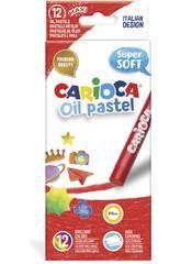 Oil Pastel 12 Unités Carioca 43277
