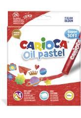 Oil Pastel 24 Unités Carioca 43278