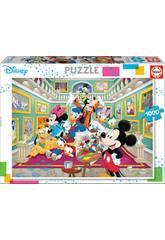 Puzzle 1000 Mickey Kunstgalerie Educa 17695