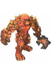 Eldrador Creatures Gólem de Lava con Arma Schleich 42447