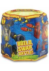 Ready 2 Robot Capsule avec Figurine Surprise et Accessoires Giochi Preziosi RED04000