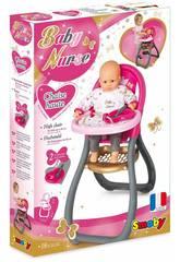 Seggiolone Baby Nurse con Accessori Smoby 220310