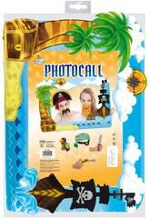 Marco Photocall Piraten mit Zubehör GloKugelndia 5338