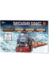 Treno Elettrico Expres Transiberiano Metallico Pequetren 450