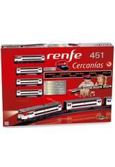 Train Électrique Renfe de Banlieue 451 Pequetren 685
