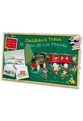 Train Électrique pour Enfants avec des Lumières, Station et Tunnel Pequetren 2001