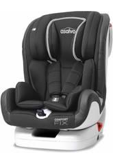 Siège-Auto Groupe 0-1-2-3 Confort Fix Gris Asalvo 15082