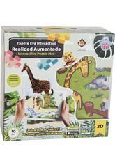 Eva Zoo Puzzle Decke 12 Stück