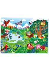 Manta Bosque Puzzle Eva 12 piezas